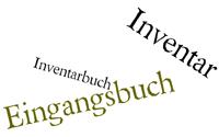 Bild mit Begriffen: Inventar, Eingangsbuch, Inventarbuch.png