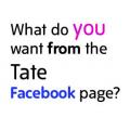 Umfrage der Tate auf Facebook