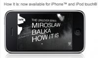 iPhone App der Tate zur Ausstellung von Miroslaw Balka